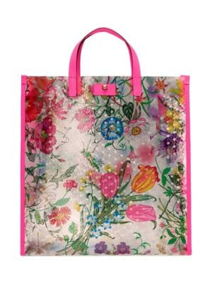 Gucci Large Flora Tote