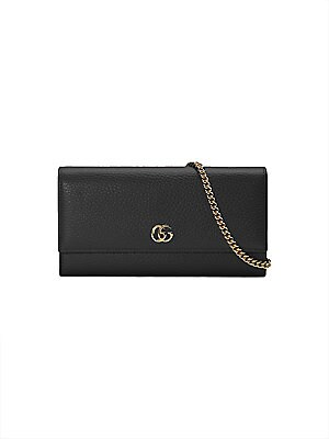 24d0ffac415 Gucci - Petite Marmont Wallet On Chain - saks.com