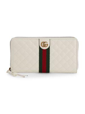 Trapuntata Zip Around Wallet by Gucci