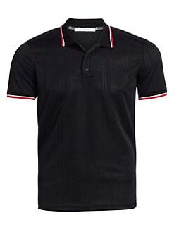 ba372b09c Givenchy. Tonal Stripe Logo Polo