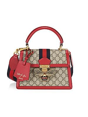 e6d46f5e8255 Gucci - Small Queen Margaret Top Handle Bag - saks.com