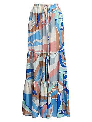 Emilio Pucci - Silk-Blend Print Strapless Jumpsuit - saks.com f512a70e4