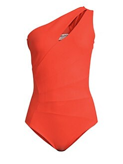 61c86a6c32358 Chiara Boni La Petite Robe. Ani One-Shoulder One-Piece Swimsuit