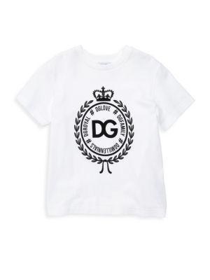 Dolce Amp Gabbana Little Kid S Kid S Logo Tee
