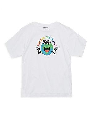81ef31413a18 Balenciaga - Little Kid's & Kid's Heavy Jersey Tee - saks.com