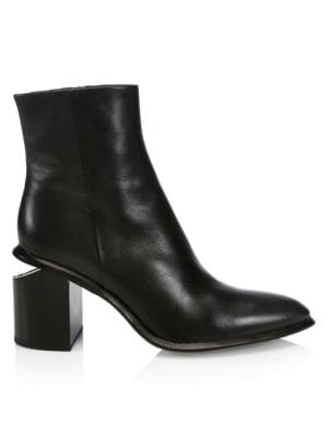 outlet store 4a507 6b3fd Christian Louboutin - Belle 100 Leather Ankle Boots - saks.com