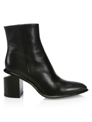 Anna Leather Ankle Boots by Alexander Wang