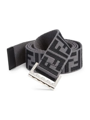 6e8e515609e7 Fendi - Fabric Logo Belt - saks.com