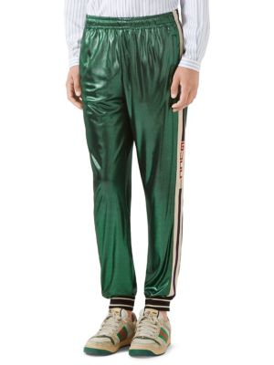 8701bbaed Gucci - Oversize Laminated Jersey Jogging Pant - saks.com
