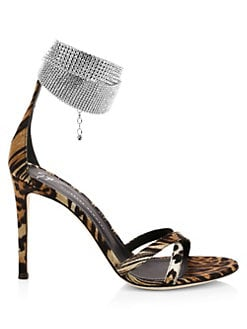 9ebc9cbf38bd QUICK VIEW. Giuseppe Zanotti. Embellished Strap Criss-Cross Sandals
