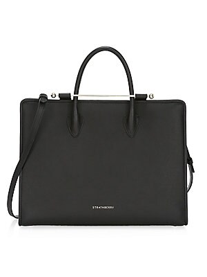 Leather Tote Bag by Strathberry