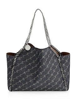 07c856bed0 Product image. QUICK VIEW. Stella McCartney. Falabella Denim Tote Bag