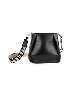 7642c9a7a2 QUICK VIEW. Stella McCartney. Mini Logo Crossbody Bag