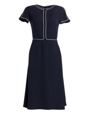 Loro Piana Rianne A-Line Silk Dress