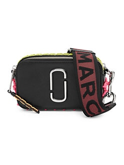e4ac94d0e5 QUICK VIEW. Marc Jacobs. Snapshot Whipstitched Leather Camera Bag