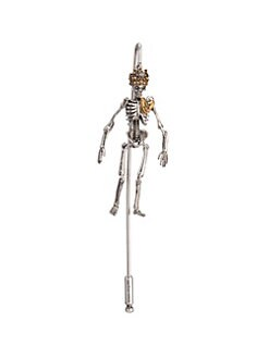 156eb1153424 Alexander McQueen - Queen Skeleton Pin