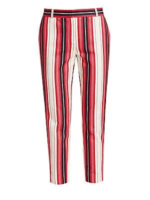 0252cd1e54fc Loro Piana - Derk Gypsy Stripe Cropped Trousers