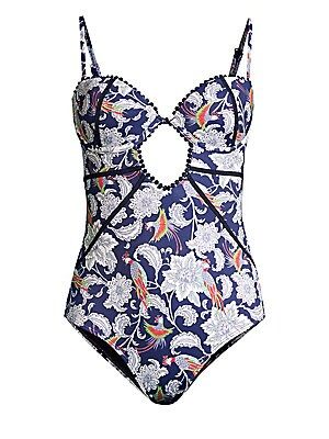 aabc9f792aa OndadeMar - Paisley Underwire One-Piece Swimsuit - saks.com