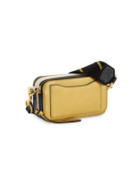 The Marc Jacobs The Snapshot Coated Leather Camera Bag | SaksFifthAvenue