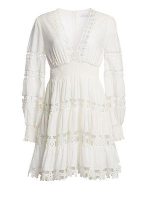Primrose Daisy Lace Mini Dress by Zimmermann