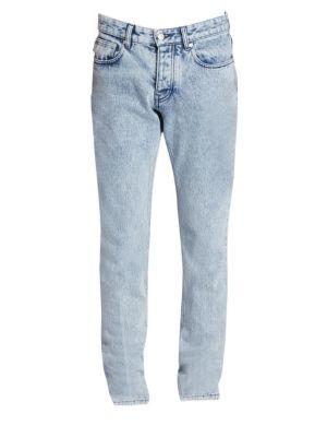 AMI Paris - Diagonal Stitch Denim Jacket - saks com