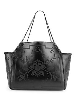 5e07713873 Product image. QUICK VIEW. Stella McCartney. Embroidered Reversible Medium  Dual Tote Bag