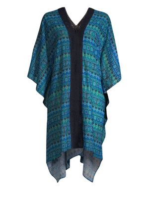 MIRACLESUIT SWIM Gypsy Caftan in Teal Green