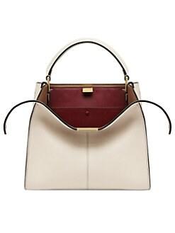 1e30cc6e52 Product image. QUICK VIEW. Fendi. Mini X-Lite Peekaboo Leather Handbag
