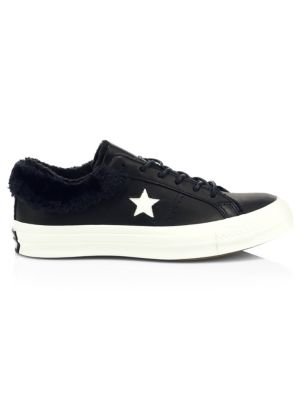 Comme des Garcons Play - Peek-A-Boo Canvas Low-Top Sneakers