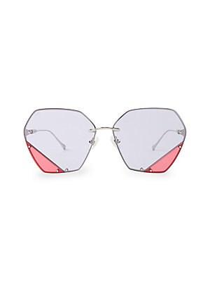 0d624561dc For Art s Sake - Artist 57MM Cat Eye Sunglasses - saks.com