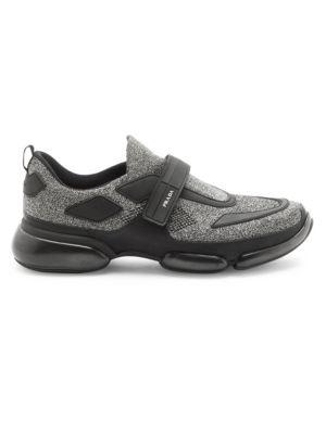 Prada Cloudbust Low Rise Mesh Sneakers