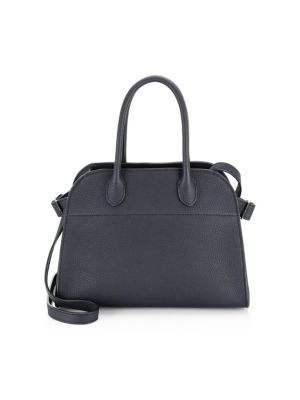 Margaux Grain Leather Bag by The Row