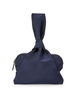 The Row Satin Evening Wristlet