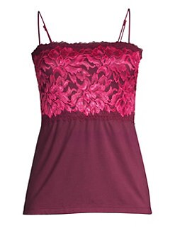 1279b3ce5147a Cosabella. Plus Never Say Never Extended Lace Camisole.  85.00 · Natalia  Sleep Cami BRIGHT FUSCHIA ROSE WINE. QUICK VIEW. Product image