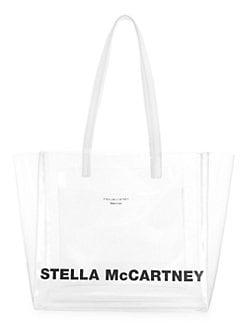4814432991a1c QUICK VIEW. Stella McCartney. Small Logo Translucent Tote