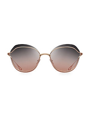 9c41ab937d2e DITA Eyewear - Flight 004 61MM Aviator Sunglasses - saks.com