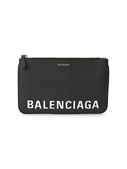 3f495ce38a71 QUICK VIEW. Balenciaga. Ville Leather Pouch