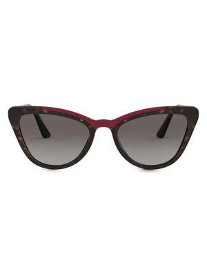 Prada 56mm Cat Eye Sunglasses