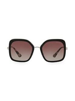 d2b8aebad9ef Prada. Square 54MM Gradient Lens Sunglasses