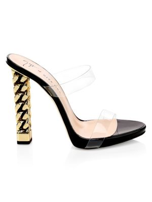 6447c6cf51bd7 Giuseppe Zanotti - Crystal Cluster Suede Ankle Strap Sandals - saks.com