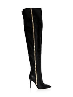 fb0b92635065 ... Over-The-Knee Boots BLACK. QUICK VIEW. Product image