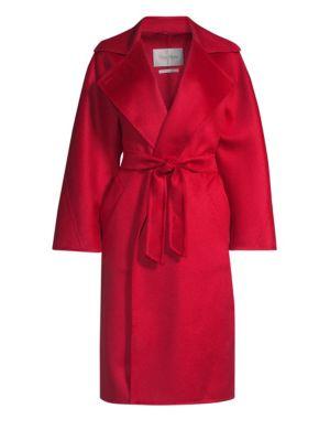 Cashmere Wrap Coat by Max Mara
