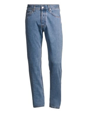 Helmut Lang High Rise Straight Leg Jeans