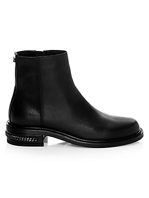 22a6dab81 Aquatalia - Addison Leather Ankle Boots - saks.com