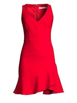 1c44ee230bc Trina Turk - Cocktail Soiree Spumonte Ruffled Dress - saks.com