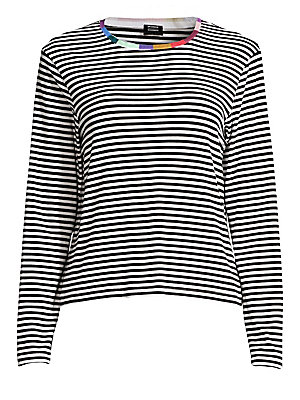 9b90be9804 Splendid x Margherita - Colore Striped Long Sleeve Tee - saks.com