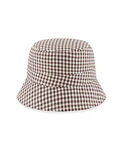 7b0956328fb QUICK VIEW. New Era. Reversible Gingham Bucket Hat
