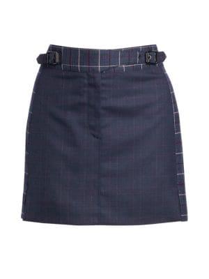Rag Amp Bone James Plaid Mini Skirt