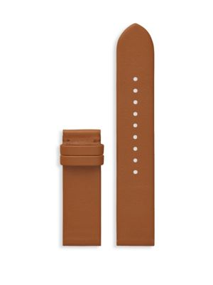 Gigi Touchscreen Smartwatch Strap, Leather, 20 Mm in Brown