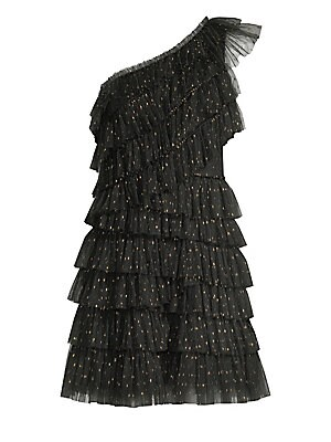 Woven Ruffle Dress by Bcbgmaxazria